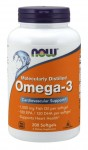 Omega-3 Molecularly Distilled (200 kaps.) NOW Foods