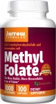 Methyl Folate (Kwas foliowy) 1000 mcg (100 kaps) Jarrow Formulas