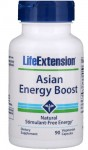 Asian Energy Boost Energia (90 kaps) Life Extension