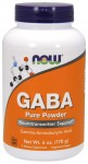 GABA Pure Powder 170 gr NOW Foods