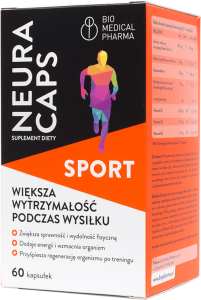 NeuraCaps Sport 60 kapsułek Bio Medical Pharma
