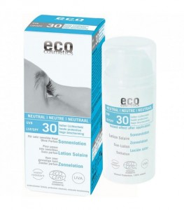 ECO Cosmetics, Emulsja na słońce SPF30 neutral ECO - 100ml