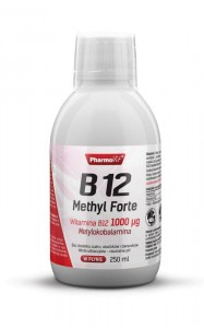 B12 Methyl 100 µg Forte 500 ml  Metylokobalamina Pharmovit