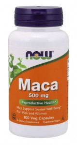 Maca 500 mg (100 kaps) NOW Foods