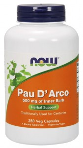 Pau D'Arco Lapacho 500 mg (250 kaps) NOW Foods