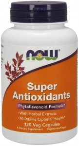 Super Antioxidants Antyoksydanty (120 kap) NOW Foods