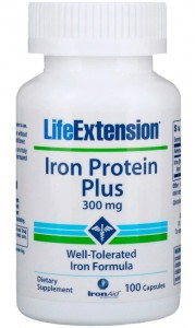 Iron Protein Plus Żelazo (100 kaps) Life Extension