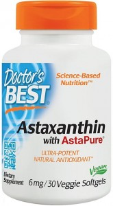 Astaxanthin with AstaPure 6 mg Astaksantyna (30 kaps) Doctor's Best