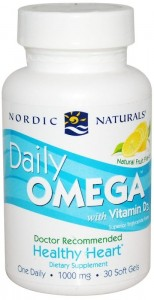Daily Omega with Vitamin D3 (30 kaps) Nordic Naturals