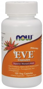 Eve Women's Multiple Vitamin (120 kaps) NOW Foods