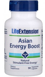 Asian Energy Boost Energia (90 kaps) Life Extension zdjęcie