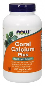 Coral Calcium Plus (250 kaps) NOW Foods