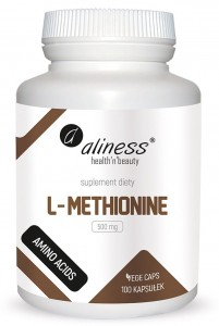L-Metionina 500 mg 100 vcaps Aliness