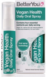 Vegan Health Spray ( wit. D, wit. B12, żelazo, jod ) 25ml BetterYou