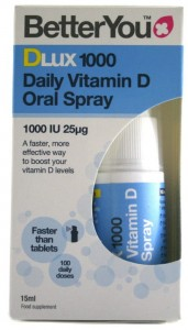 DLux 1000 Daily Vitamin D Spray 15 ml, BetterYou