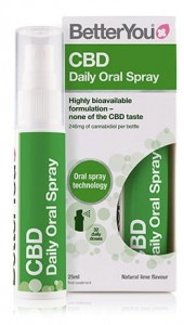 CBD Daily Oral Spray 25 ml BetterYou zdjęcie