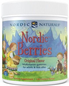 Nordic Berries Multiwitamina 120 żelek Nordic Naturals