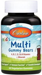 Kid's Multiwitamina Bears 60 żelek Carlson Labs