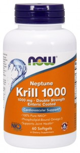 Neptune Krill 1000mg 60 softgels, NOW Foods