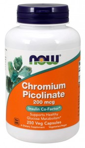 Chromium Picolinate Chrom 250 kaps NOW Foods