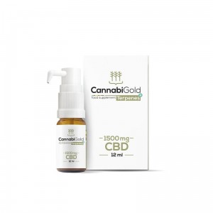 CannabiGold Terpenes+ 1500mg CBD 12ml