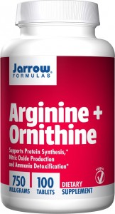 Jarrow Formulas Arginine + Ornithine 100 tabletek