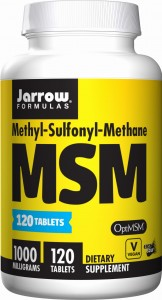 MSM 1000 mg OptiMSM 120 tabletek Jarrow Formulas