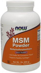 MSM proszek 454 gram Now Foods