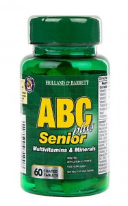 ABC Plus Senior Multiwitamina 60 tabletek Holland & Barrett