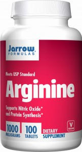 Jarrow Formulas Arginine 1000 mg 100 tabletek