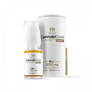 Cannabigold select 1000mg 12ml, HemPoland
