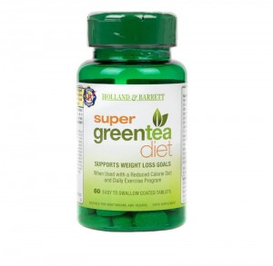 Super Green Tea Diet 60 tabletek Holland & Barrett