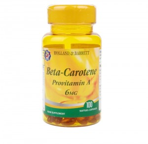 Beta Carotene 6 mg (100 kapsułek) Holland & Barrett