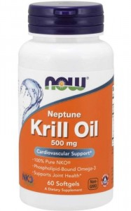 Neptune Krill 500 mg 60 softgels, NOW Foods