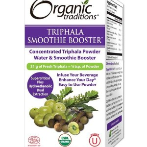 Triphala smoothie ekstrakt (33 g) Organics Traditions