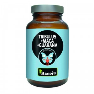 Tribulus + Maca + Guarana 500 mg 90 kaps. Hanoju