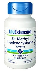 Selen - Se-Methyl L-Selenocysteine LifeExtension (90 kapsułek)