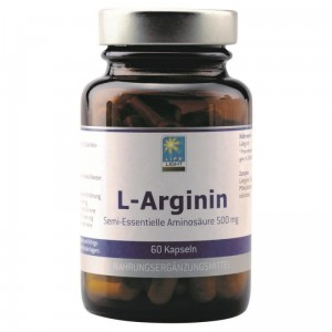 L-Arginina 500mg + B6 (60 kaps.) Life Light