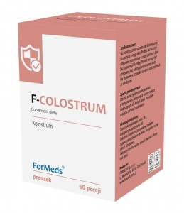 F-COLOSTRUM 60 porcji Kolostrum - Formeds
