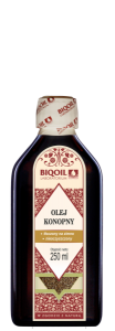 Olej konopny 250 ml Laboratorium Biooil