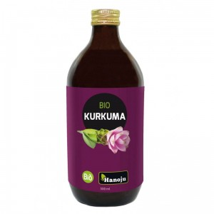 BIO  Kurkuma Puree - sok 500 ml