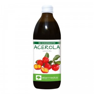 Sok 100% puree Acerola 500ml Alter Medica