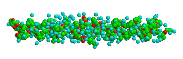 Struktura molekularna kolagenu