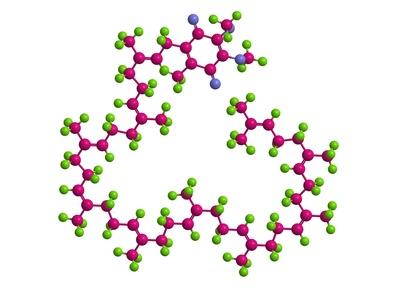 Struktura molekularna koenzymu Q10