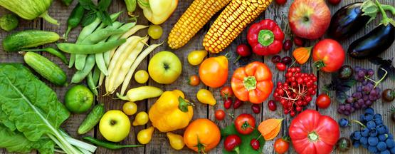 Świeże warzywa i owoce - bogactwo witamin